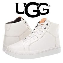 UGG Australia Suede Street Style Plain Leather Sneakers
