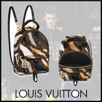 Louis Vuitton MONOGRAM Camouflage Monogram Backpacks