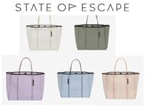 State of Escape Casual Style Nylon Blended Fabrics Office Style