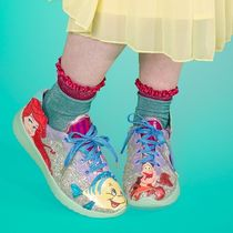 Irregular Choice Lace-up Casual Style Collaboration Low-Top Sneakers