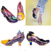 Irregular Choice Round Toe Casual Style Collaboration Pumps & Mules