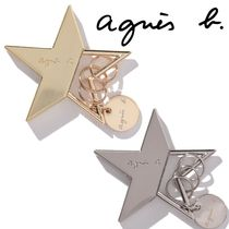Agnes b Star Unisex Keychains & Bag Charms