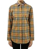 Burberry Cotton Shirts & Blouses