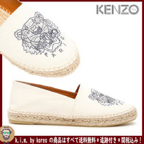 KENZO Casual Style Blended Fabrics Slip-On Shoes