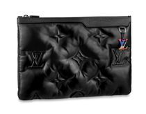 Louis Vuitton Street Style Leather Clutches