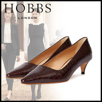 Hobbs London Casual Style Leather Python Elegant Style