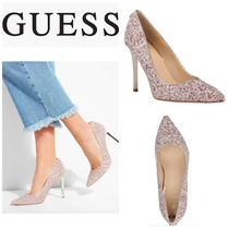 Guess Casual Style Plain Pin Heels Party Style Heeled Sandals