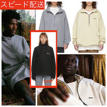 FEAR OF GOD ESSENTIALS Pullovers Unisex Street Style Logo Tops