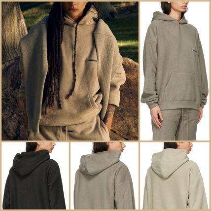 FEAR OF GOD ESSENTIALS Pullovers Unisex Street Style Collaboration Long Sleeves