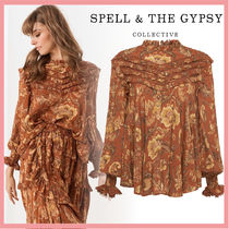 SPELL Casual Style Party Style Elegant Style Shirts & Blouses