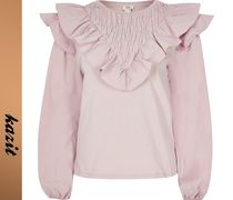River Island Casual Style Long Sleeves Shirts & Blouses