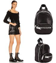 Alexander Wang Casual Style Unisex Street Style 2WAY Plain Leather