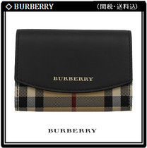 Burberry Other Check Patterns Unisex Card Holders