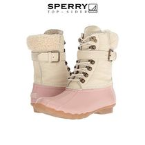 Sperry Top Sider Plain Mid Heel Boots
