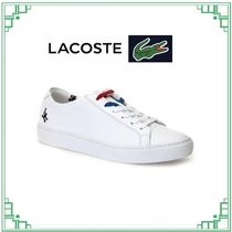 LACOSTE Casual Style Collaboration Leather Office Style