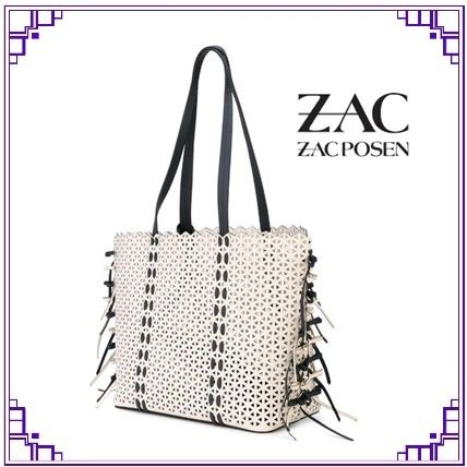 Casual Style Calfskin A4 Elegant Style Crossbody Totes