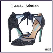 Betsey Johnson With Jewels High Heel Pumps & Mules