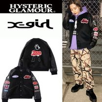 Unisex Nylon Blended Fabrics Street Style Collaboration