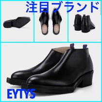 Eytys Blended Fabrics Street Style Plain Leather Special Edition