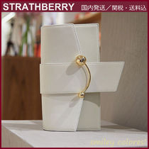 STRATHBERRY Casual Style Leather Elegant Style Crossbody Formal Style