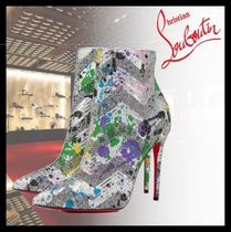 Christian Louboutin Casual Style Pin Heels Party Style Ankle & Booties Boots