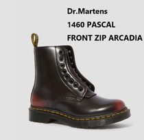 Dr Martens 1460 Leather Mid Heel Boots