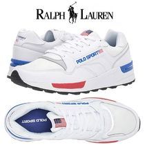 Ralph Lauren Street Style Leather Sneakers