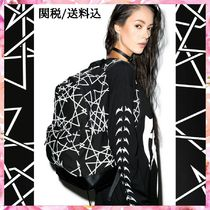 LONG CLOTHING Casual Style Unisex Street Style A4 Backpacks