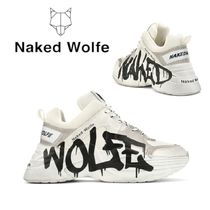 Naked Wolfe Street Style Leather Sneakers