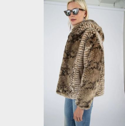 Faux Fur Blended Fabrics Other Animal Patterns Medium