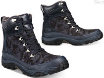 THE NORTH FACE Camouflage Mountain Boots Blended Fabrics Street Style Plain