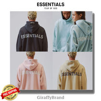 FEAR OF GOD ESSENTIALS Unisex Street Style Hoodies