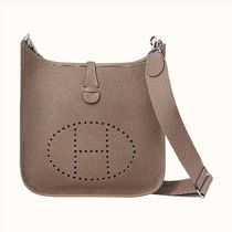HERMES Evelyne Casual Style 2WAY Leather Handmade Shoulder Bags