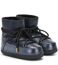 INUIKII Mountain Boots Rubber Sole Casual Style Street Style Plain