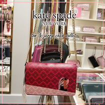 kate spade new york Casual Style Collaboration Plain Other Animal Patterns