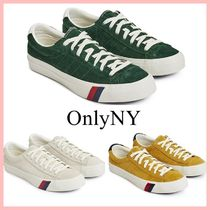 ONLY NY Unisex Suede Street Style Collaboration Plain Sneakers