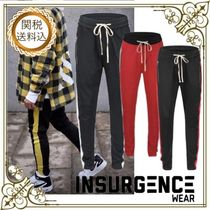 Insurgence Wear Tapered Pants Stripes Street Style Tapered Pants