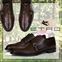 ETRO Plain Toe Loafers Plain Leather Loafers & Slip-ons