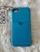 LOEWE Leather iPhone 8 Smart Phone Cases
