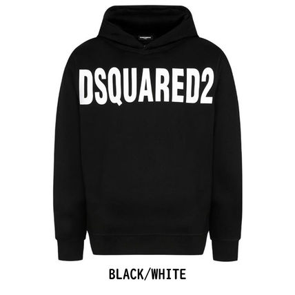 D SQUARED2 Hoodies Unisex Street Style Long Sleeves Plain Logo Luxury Hoodies 2