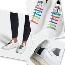 Stella McCartney Unisex Plain Leather Sneakers