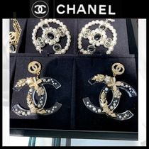 CHANEL Costume Jewelry Star Casual Style Blended Fabrics