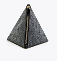 Uterque Leather Clutches