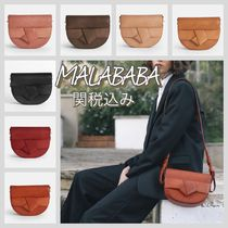 Malababa Casual Style Leather Elegant Style Shoulder Bags