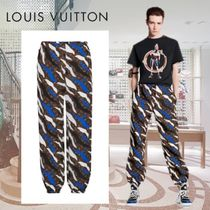 Louis Vuitton MONOGRAM Camouflage Monogram Nylon Joggers & Sweatpants