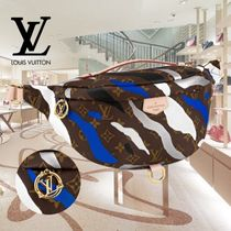 Louis Vuitton MONOGRAM Camouflage Monogram Casual Style Unisex Canvas Leather
