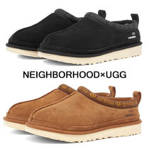 NEIGHBORHOOD Suede Street Style Collaboration Plain Loafers & Slip-ons