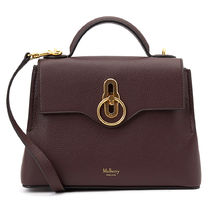 Mulberry Seaton 2WAY Plain Leather Party Style Elegant Style Shoulder Bags