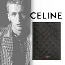 CELINE Triomphe Canvas Passport Cases