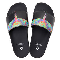 Marcelo Burlon Unisex Shower Shoes PVC Clothing Shower Sandals